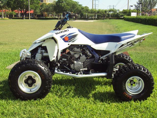 2006-2009 Suzuki 450 (LT-R450) Engine Idles Rough -