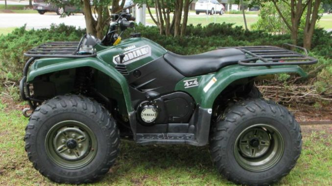 Yamaha kodiak grizzly 400 450 600 660 atv quad repair manual 2567.